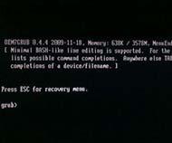 云骑士u盘启动安装win7提示oem7grub 0.4.4怎么办