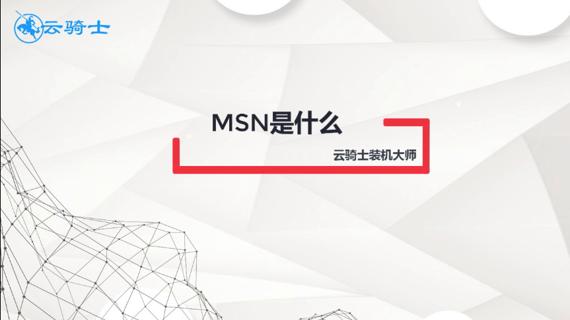msn是什么