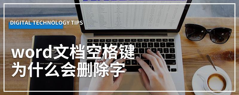 word文档空格键为什么会删除字