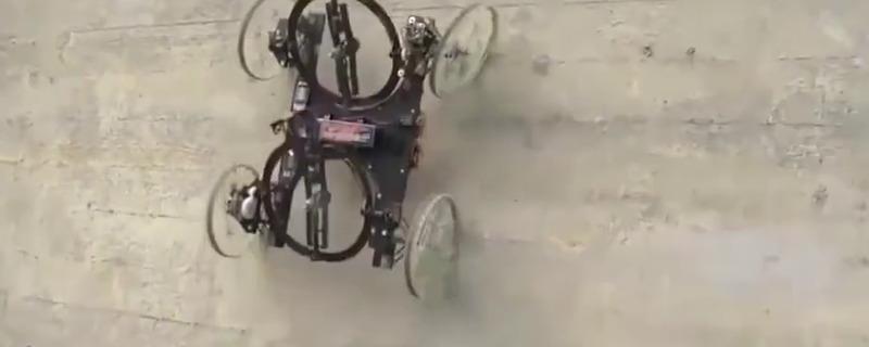 牛人发明:利用风扇和陀螺平衡原理的攀爬机器人,发明人真是天才