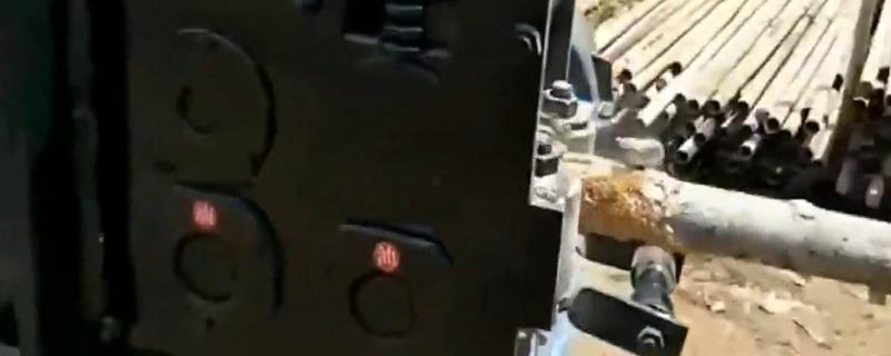 这机器谁发明的,生锈的钢管进去新的出来,怎么做到的