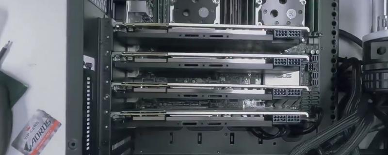 价值2万美元!双CPU四块显卡的工作站组装全过程