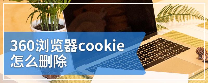 360浏览器cookie怎么删除