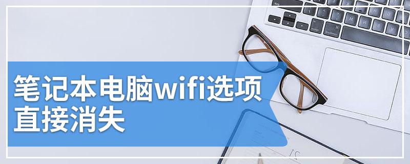 笔记本电脑wifi选项直接消失