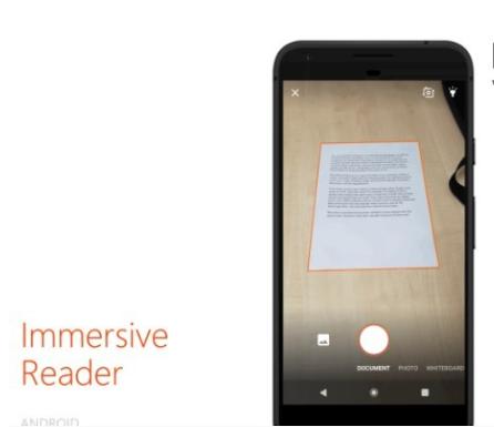 微软Office Lens将在Android和iOS平台上推出增加沉浸式阅读功能