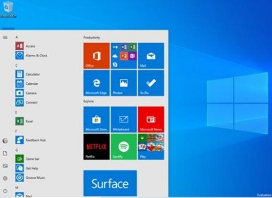 微软向跳跃预览更新通道推送了Windows10 20H1 18850更新