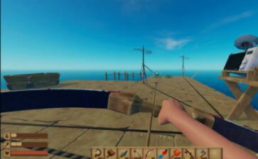 木筏求生的弓箭怎么用(6)