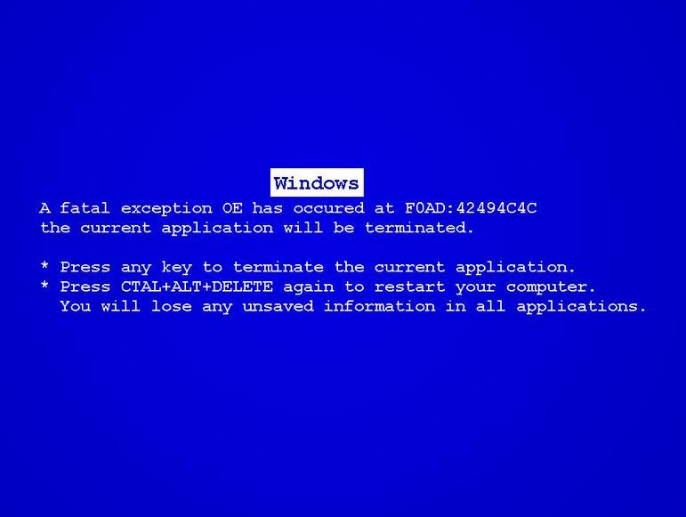 电脑蓝屏怎么回事
