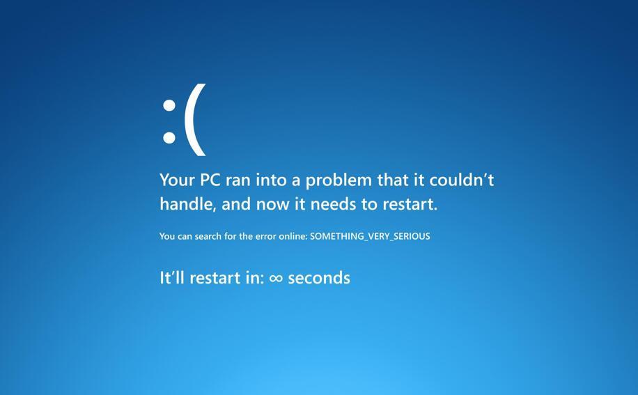 电脑蓝屏怎么回事(2)