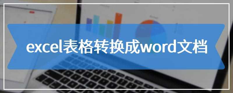 excel表格转换成word文档