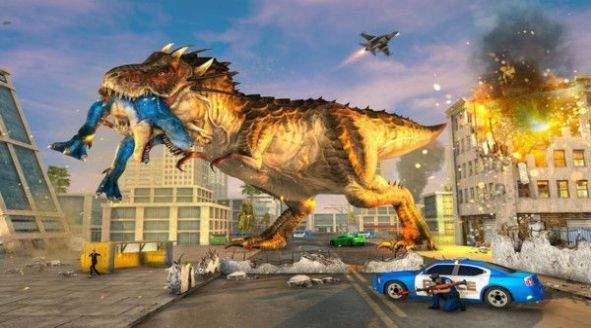 恐龙手机游戏大全