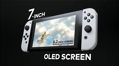 任天堂发表新款 Switch OLED 游戏主机将贩售(1)