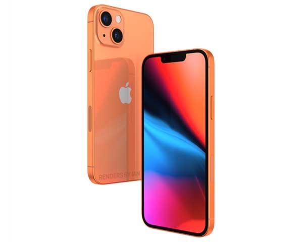 不止小刘海!iPhone 13最终渲染图曝光:前所未有的配色方案(2)