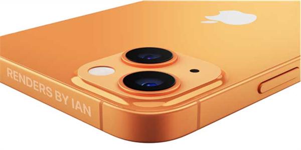 不止小刘海!iPhone 13最终渲染图曝光:前所未有的配色方案(1)