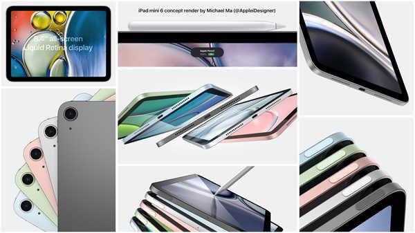 iPad mini 6前瞻:取消Home键,性能外观都升级