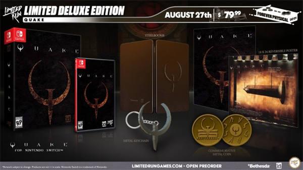 《雷神之锤》复刻版发布实体版本 但并无Xbox版