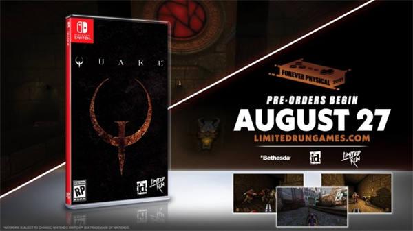 《雷神之锤》复刻版发布实体版本 但并无Xbox版(1)