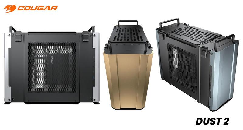 COUGAR推出军事风格DUST 2 Mini ITX机壳