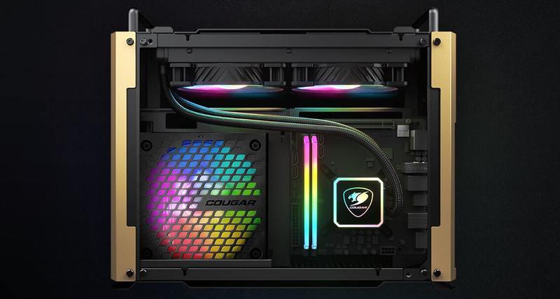 COUGAR推出军事风格DUST 2 Mini ITX机壳(3)