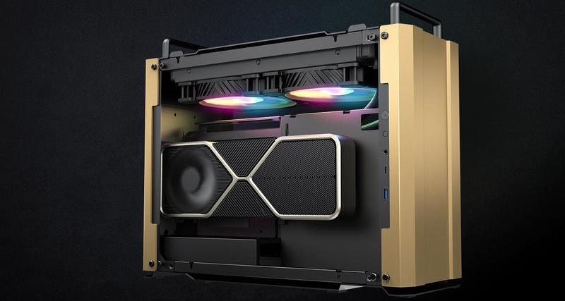 COUGAR推出军事风格DUST 2 Mini ITX机壳(2)