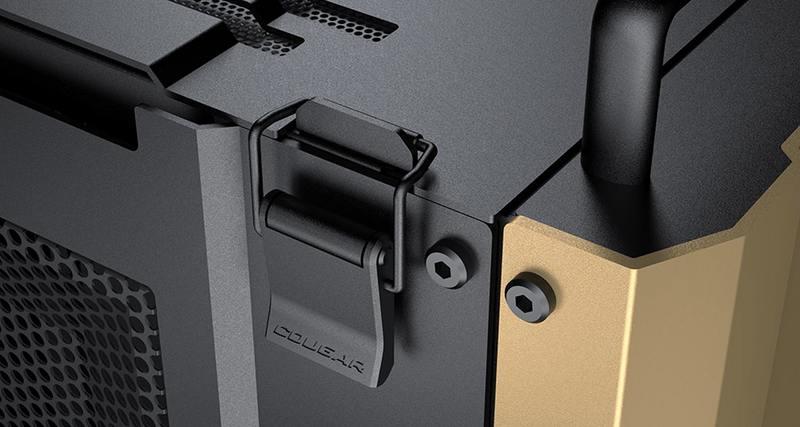 COUGAR推出军事风格DUST 2 Mini ITX机壳(1)