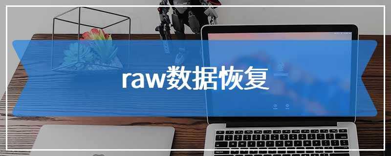 raw数据恢复