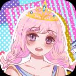粉红公主芭比换装