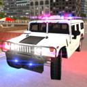 美国警察跑车