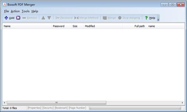 Boxoft PDF Merger(PDF合并工具)