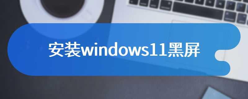 安装windows11黑屏