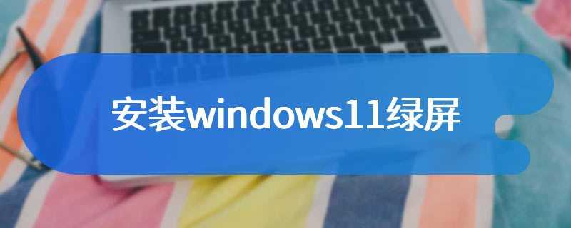 安装windows11绿屏