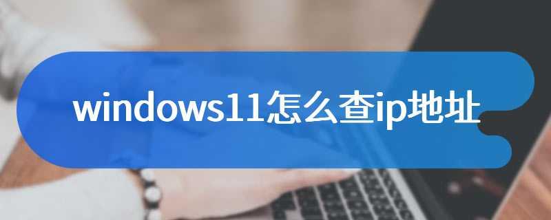 windows11怎么查ip地址