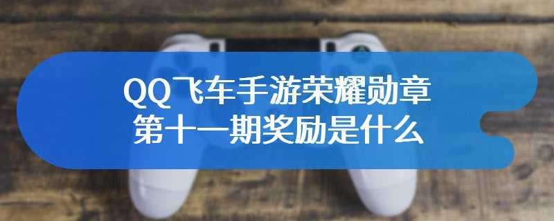 QQ飞车手游荣耀勋章第十一期奖励是什么