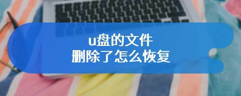 u盘的文件删除了怎么恢复