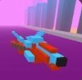 战斗飞船3D像素世界