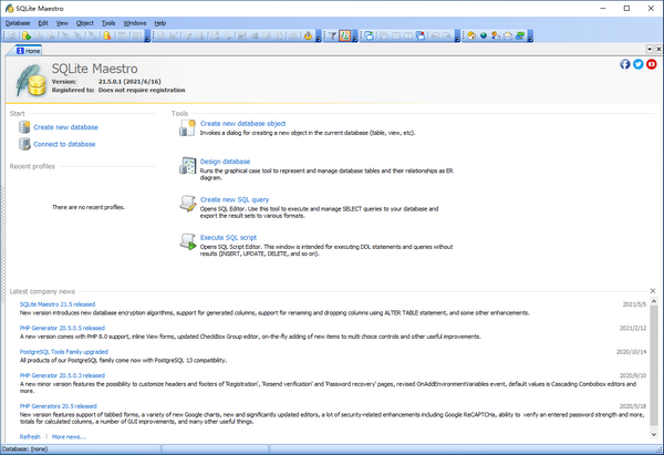 SQLite Maestro(数据库管理软件)