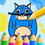 儿童填色绘本