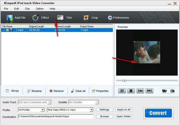 4Easysoft iPod touch Video Converter(视频转换工具)