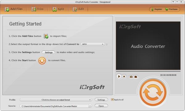 iOrgSoft Audio Converter(音频转换工具)