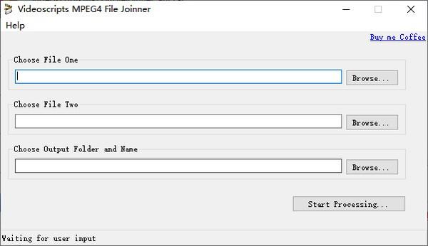 Videoscripts MPEG4 File joinner(MP4文件合并工具)