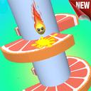 橙色螺旋跳